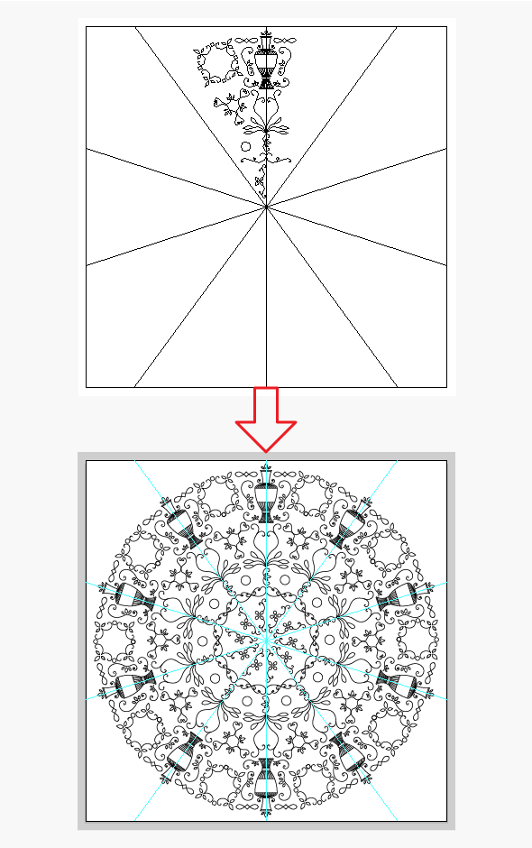 how to create a circular template in illustrator