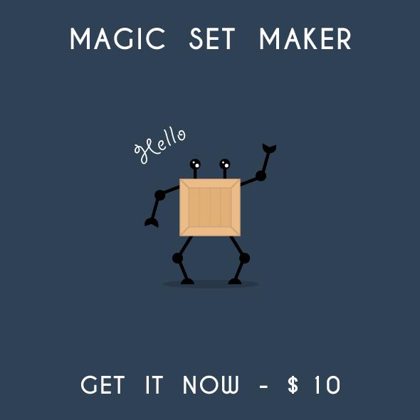 Magic Set Maker Illustrator Script Mai Tools